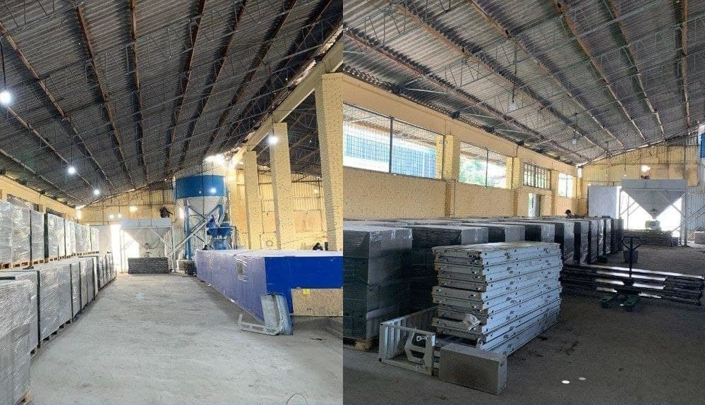 Завод по производству газоблоков